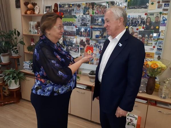 Вячеслав Погудин награжден «Орденом Золотого сердца»