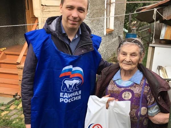 Владимир Смирнов поблагодарил партийцев Орджоникидзевского местного отделения за помощь ветеранам