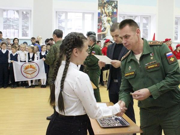 Сергей Воронин поздравил вступивших в ряды «Юнармии» екатеринбуржцев