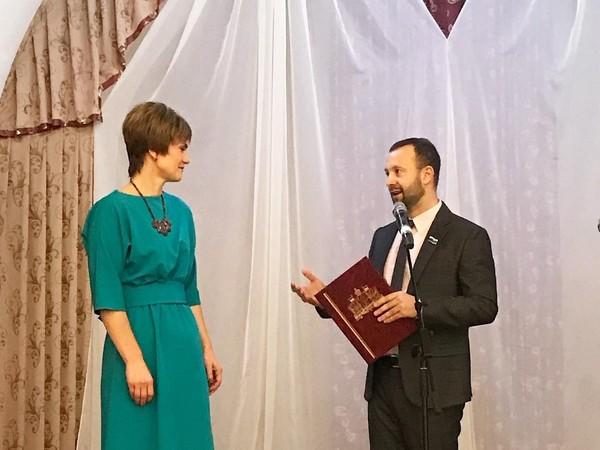 Алексей Коробейников поздравил с юбилеем Камышловский педагогический колледж