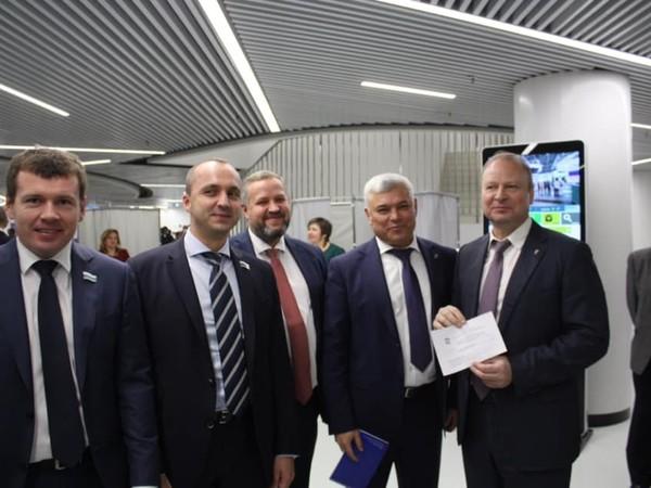 Виталий Крупин: «Благодарю коллег по Партии за оказанное доверие»