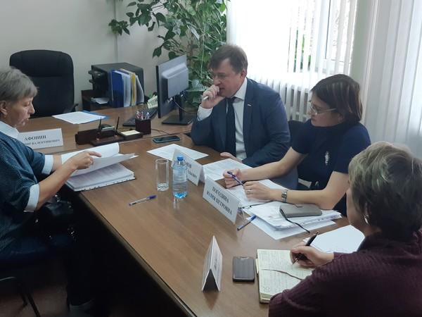 Максим Иванов помог жителям поселка Ново-Кирпичный