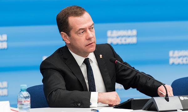 Медведев проведет встречу с активом местных и первичных отделений Партии