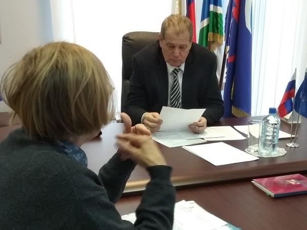 Замминистра социальной политики Свердловской области провел прием граждан