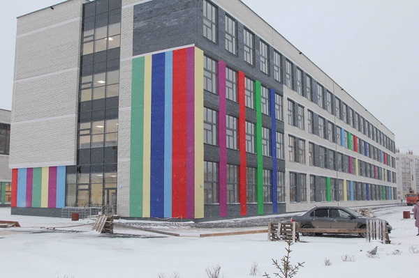 Нацпроект «Образование»: новую школу в Каменске-Уральском готовят к вводу в эксплуатацию