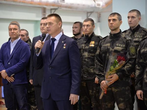 Гостем турнира памяти Леонида Валова стал Герой России, единоросс Сергей Воронин