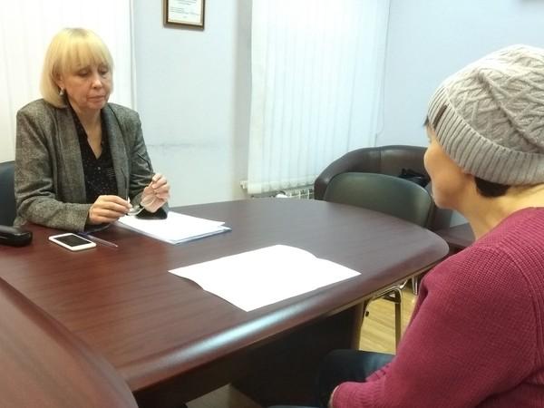 Специалист Пенсионного фонда России по Свердловской области Нина Бабкина провела прием граждан