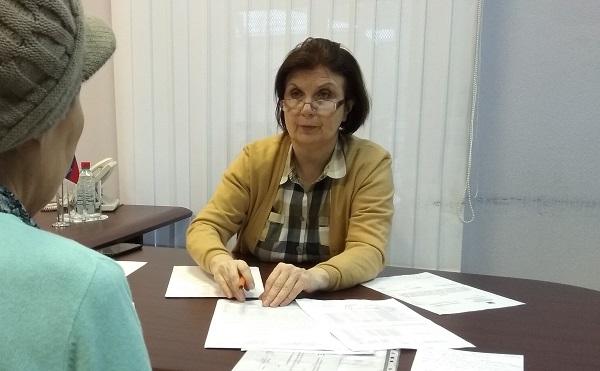 Главный специалист Управления Федеральной службы судебных приставов провела прием граждан
