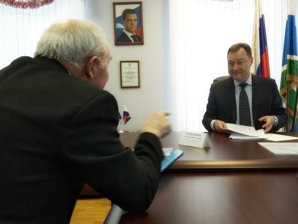 Александр Серебренников провел личный прием граждан