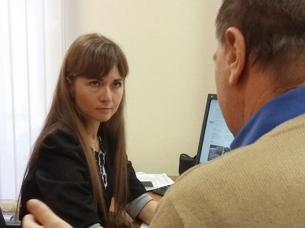 Главный специалист юридического бюро по Свердловской области провела прием граждан