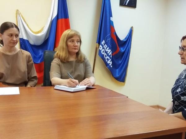 Специалисты Фонда социального страхования РФ провели прием граждан