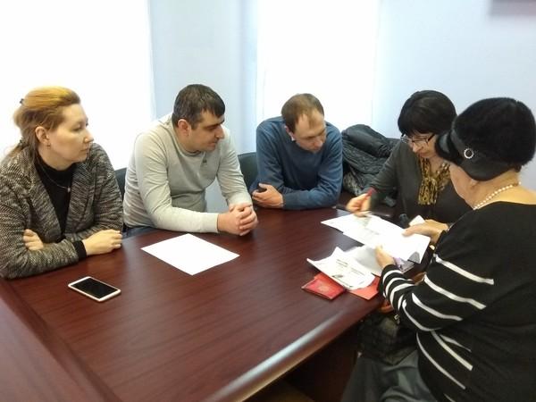 Специалисты департамента жилстройнадзора Свердловской области провели прием граждан