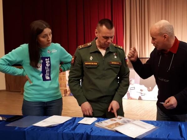 Единоросс Сергей Воронин приветствовал участников молодежного квеста «День ДОСААФ»