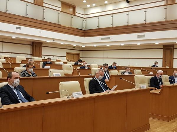 Депутаты рассмотрят меры поддержки граждан, малого и среднего бизнеса на внеочередном заседании Заксобрания