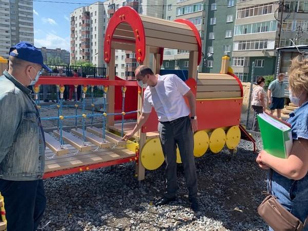 Первые благоустроенные дворы Екатеринбурга будут сданы уже в июне