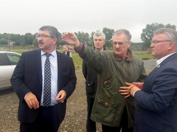 В преддверии Дня города Сергей Никонов проверил строительство важных социальных объектов в Лесном