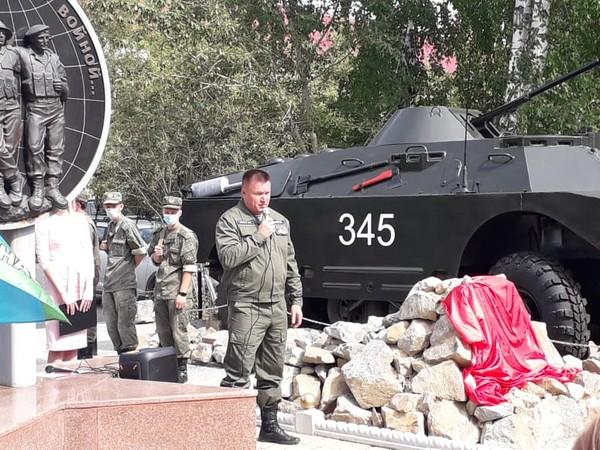 При финансовой поддержке Секретаря Белоярского МОП Игоря Лаврентьева в Белоярском открыт новый памятник