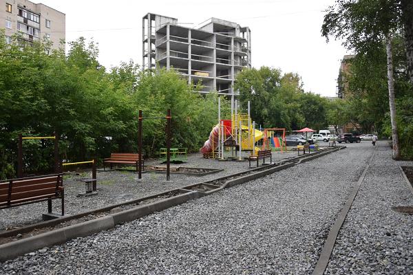 После обращения в Региональную общественную приемную решилась многолетняя проблема двора в Екатеринбурге