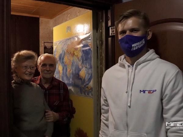 Волонтеры навестили своих подопечных ветеранов